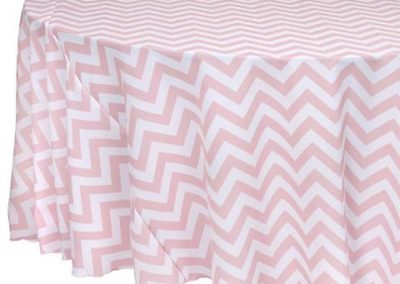 Pink Chevron Poly