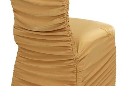 Gold Rouged Chair Cover