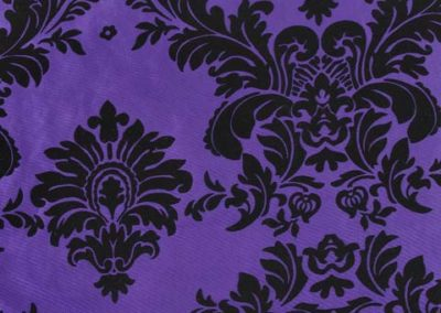 Purple Baroque Flocking