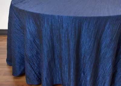 Sapphire Blue Crinkle