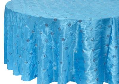 Turquoise Supreme Pintuck