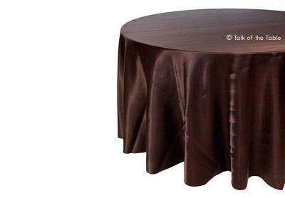 Dark Brown Satin
