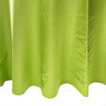 Lime Green Satin Napkin