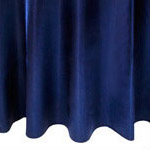 Navy Satin Napkin