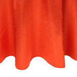 Orange Satin Napkin