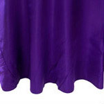 Purple Satin Napkin