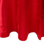 Red Satin Napkin